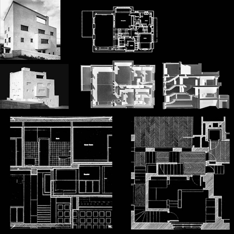 I do not draw plans facades or sections adolf loos and for Karma home designs