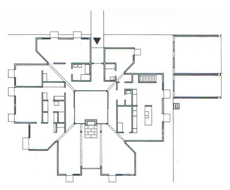 Louis Kahn Floor Plans Modern Home Design And Decorating Ideas - Esherick House Floor Plan