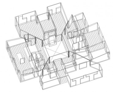 The Plan Is A Society Of Rooms Goldenberg House By Louis
