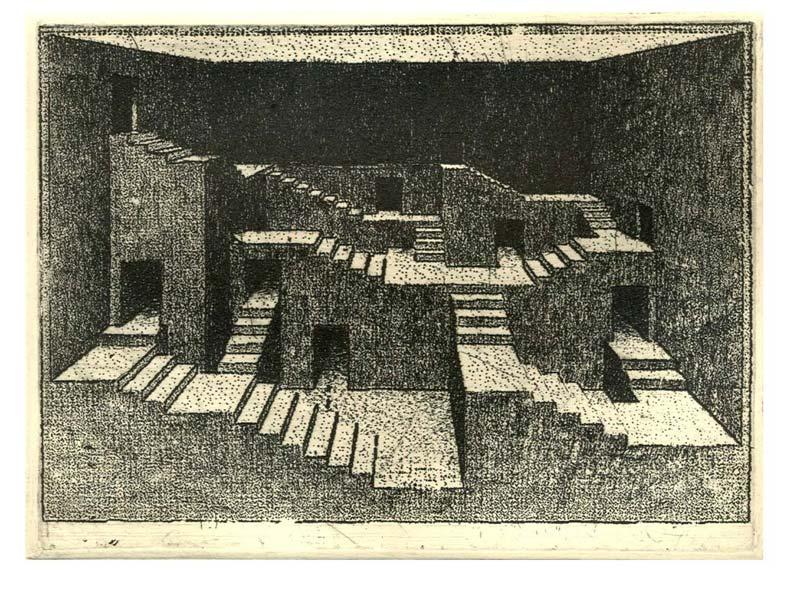 marcin bialas etchings stairs