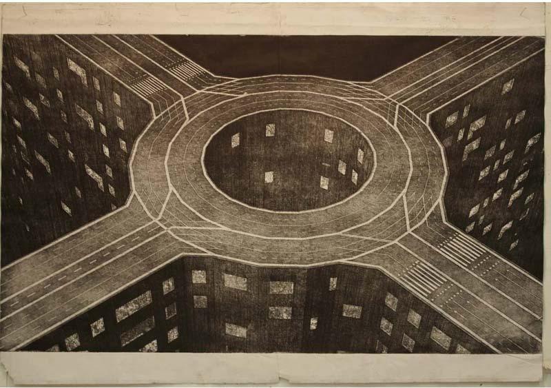 marcin bialas etchings roads