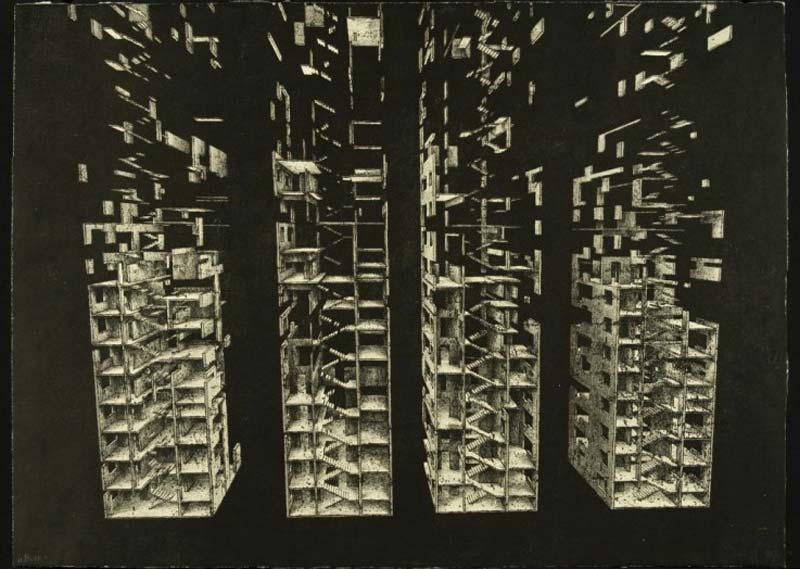 marcin bialas etchings buildings