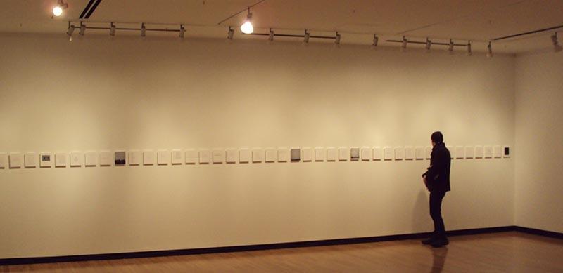 Installation as deconstructed bookwork at Justina M. Barnicke Gallery, Toronto