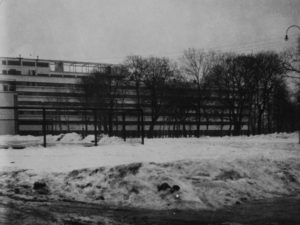 The Narkomfin Building In Moscow 1928 29 A Built