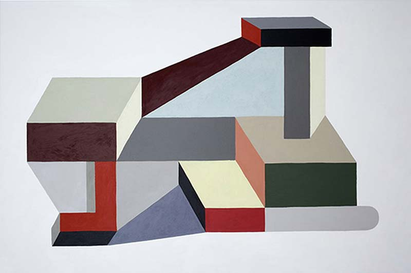 Nathalie Du Pasquier S Recent Paintings And Constructions