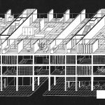 """""""Habitat and the City"""": Competition Entry by Neutelings,  Wall,  De Geyter and  Roodbeen (1990)"""