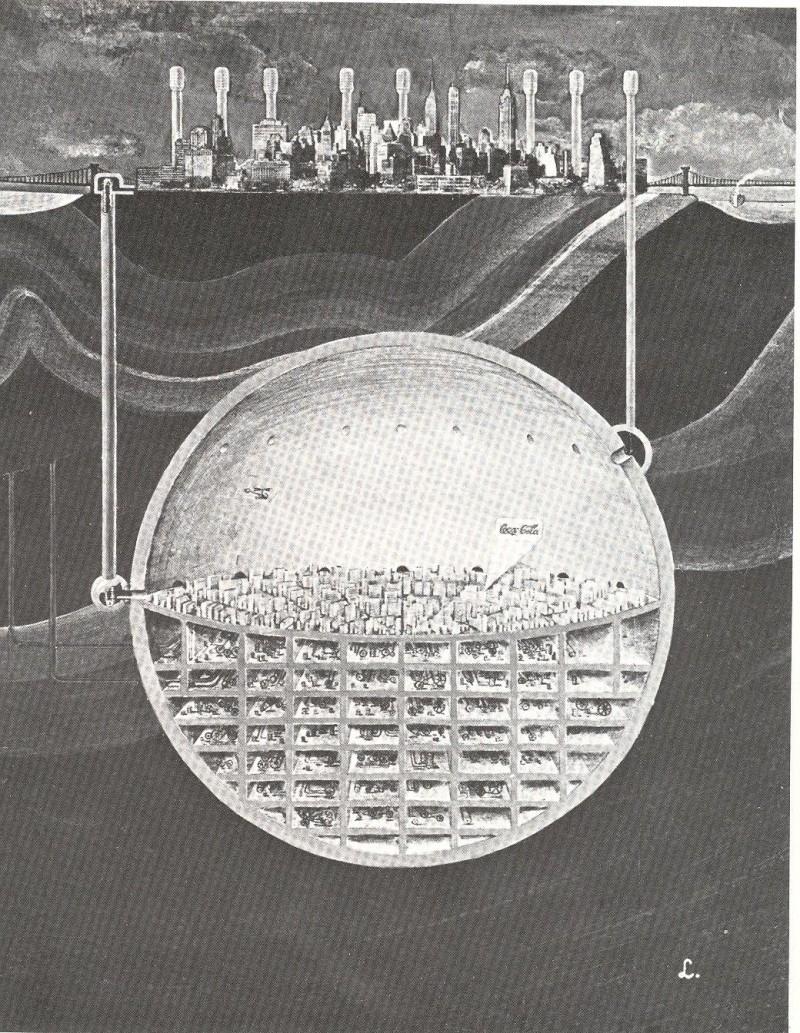 Oscar Newman's Underground City Beneath Manhattan – SOCKS