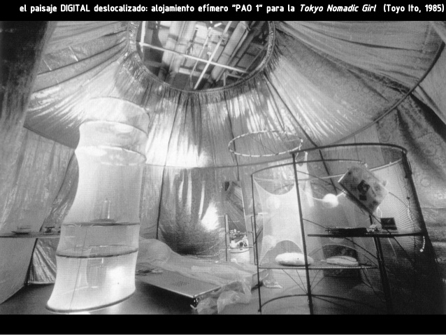 Pao I (1985) Interior view