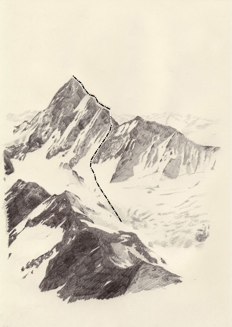 Magic Lines Mountaineering As An Aesthetic Practice Socks