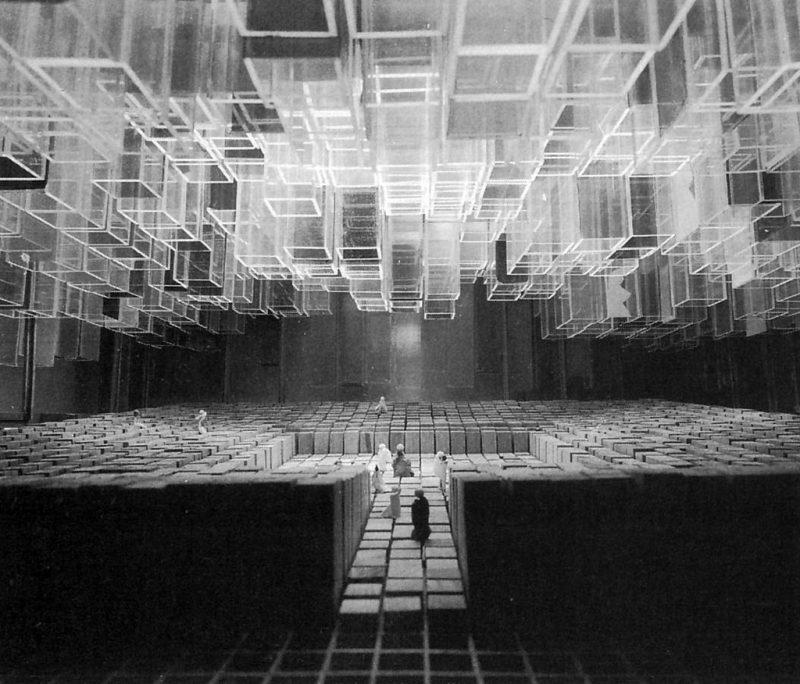 New Light Theater Project: Lyrical Theatre In Cagliari, Maurizio Sacripanti, 1965