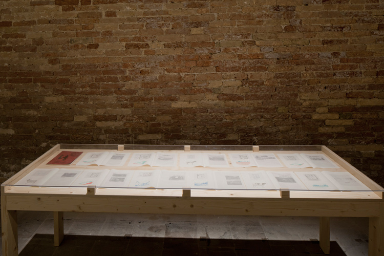 "Selmani ""1000 Villages"" installation at 2015 Venice Biennale ""All the World's Futures"""