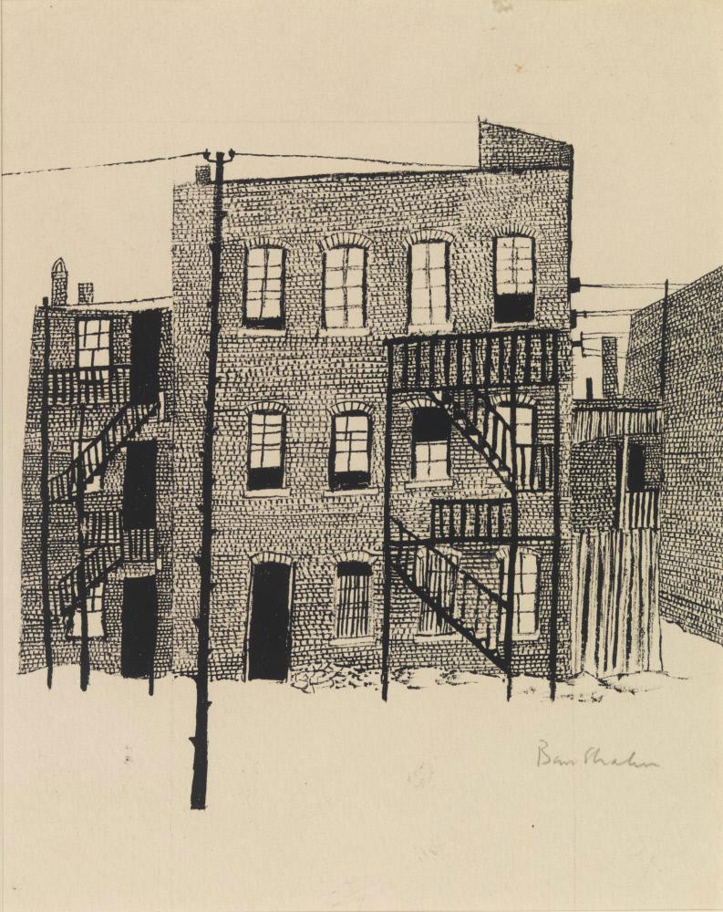 Ben Shahn Untitled Drawing Series 1948 Socks