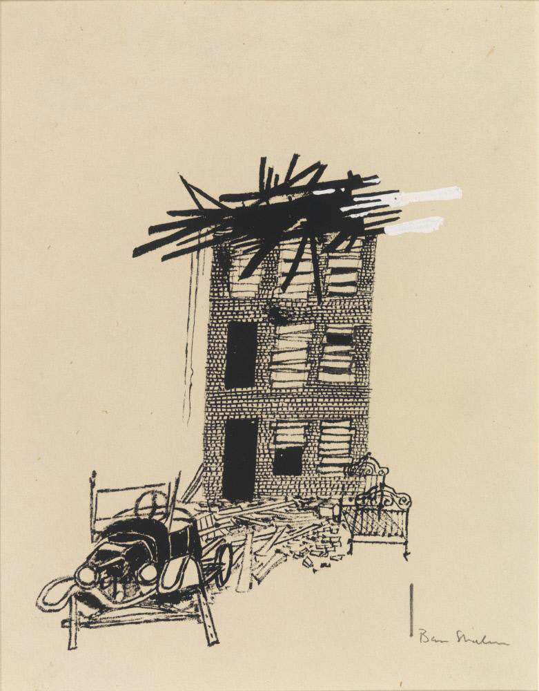 Ben Shahn, Untitled Drawing Series, (1948) – SOCKS