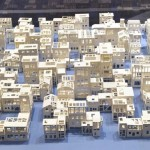 Building Fragile Cities: Paper Models by Stephanie Beck