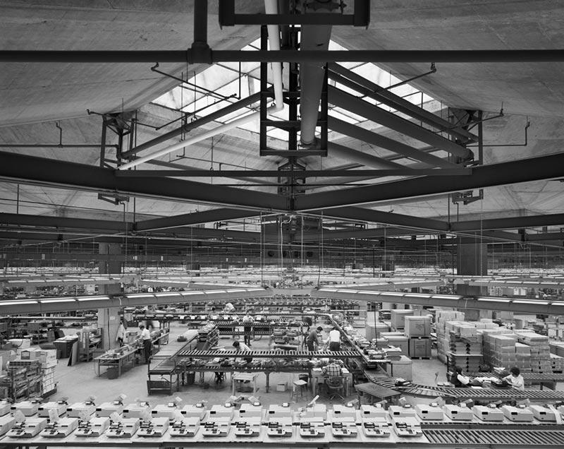 Olivetti Underwood Factory, Louis Kahn, Harrisburg, PA, 1969 Gelatin Silver Print