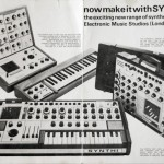 Vintage synths catalogues and brochures