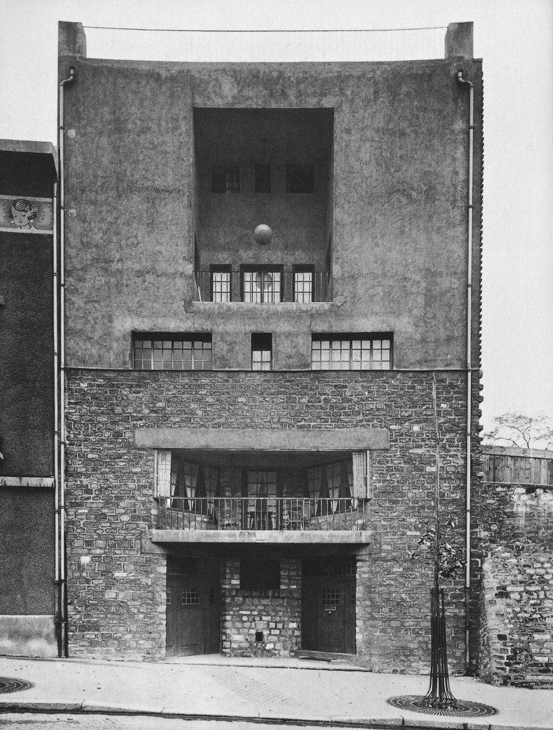 Adolf Loos Tristan Tzara House Paris 1925 1926 Socks