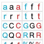 Arial vs Helvetica