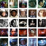 """Thirty Five Images Of Space Helmet Reflections"" and More Recent Works By Eric Ulrich"