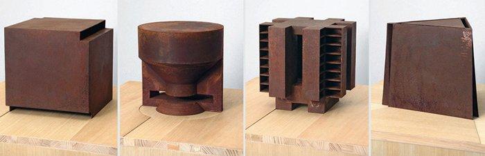 Simon Ungers, Silent Architecture models
