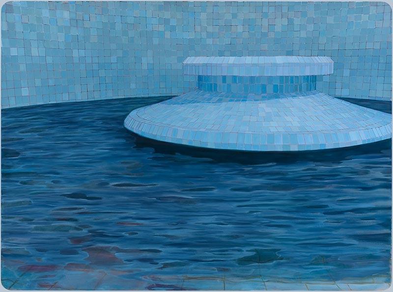 The fountain, 2009 oil on canvas , 170 x 230 cm