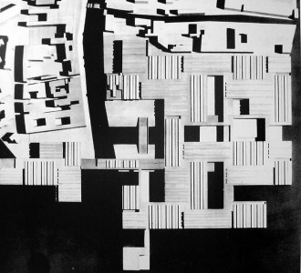 The building is the city le corbusier s unbuilt hospital for Corbusier sessel 00 schneider