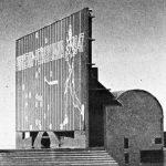 National Collegiate Football Hall of Fame in New Brunswick, NJ, by Venturi, Scott Brown and Associates, Inc. (1967)