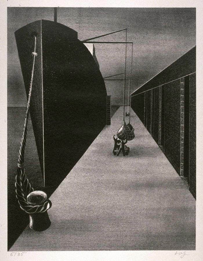 """Untitled (Docked Ship)"", ca. 1930"