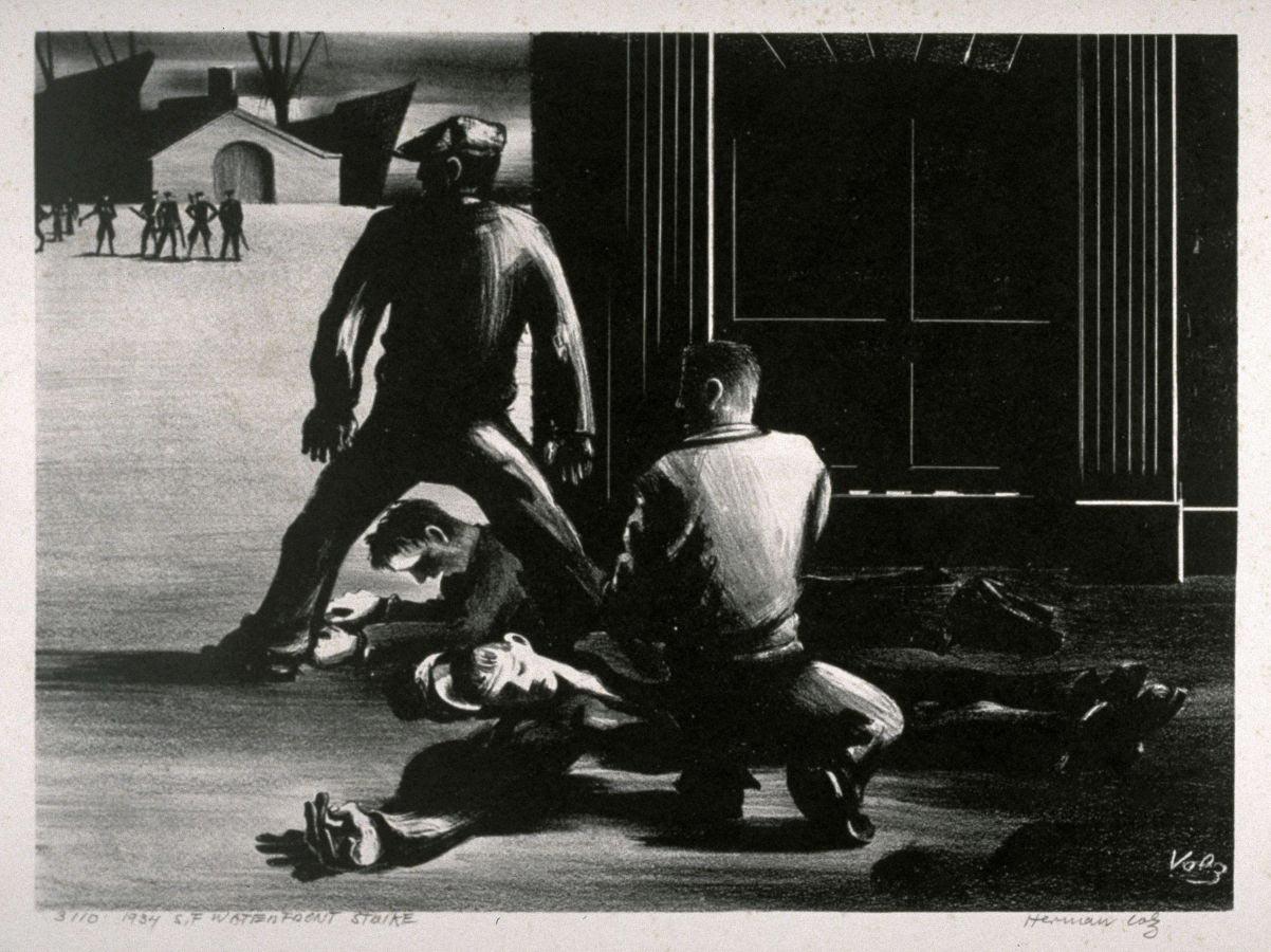 """""""San Francisco Waterfront Strike"""", 1934"""