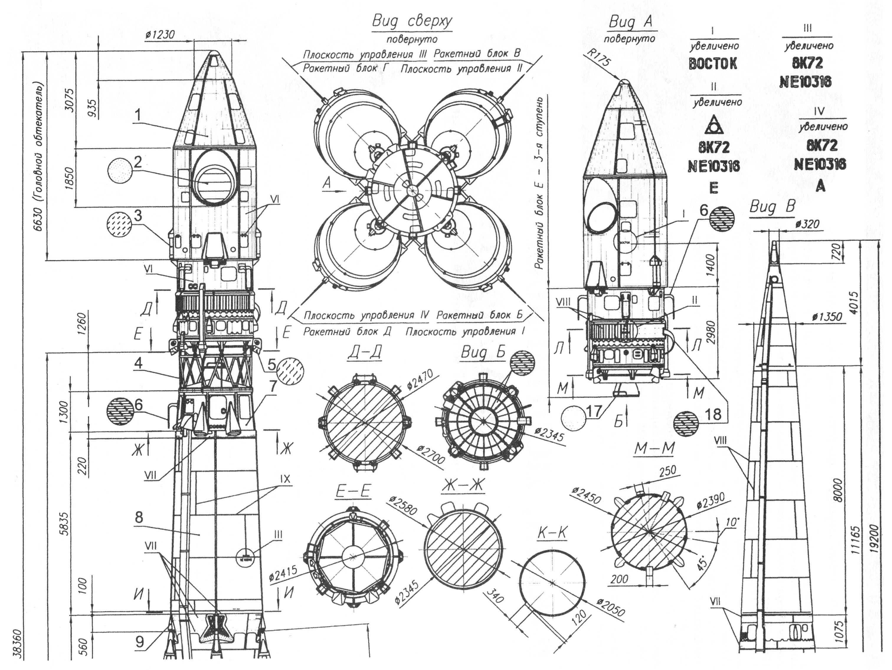 vostok spacecraft modules  u2013 socks