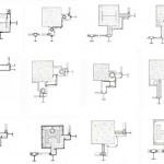 Corner Solutions of Mies Van Der Rohe's towers (John Winter, 1972)