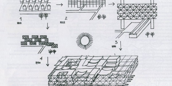 Spatial City Principles by Yona Friedman, 1960 – SOCKS