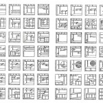 Seventy 'Tana' or 'Tokowaki' Variations, in Tetsuro Yoshida's 'The Japanese House' (1935)